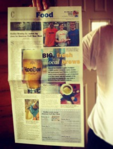 HooDoo Newsminer American Craft Beer Week