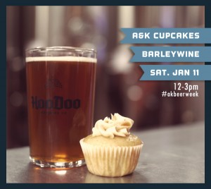 Cupcakes and HooDoo Brewing Co