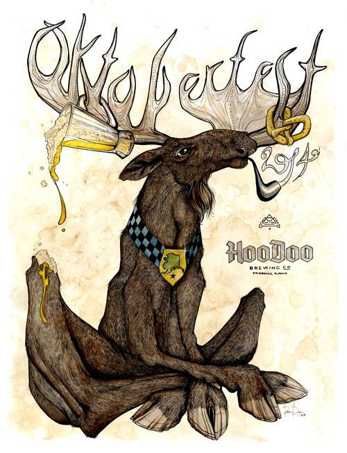 2014 poster and t-shirt art by Brianna Reagan.