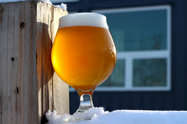 HOODOO BREWING CO  Belgian Golden Strong Ale