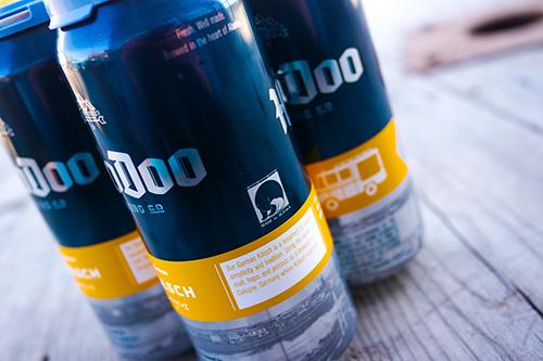 HooDoo Brewing C. Fairbanks Alaska Cans