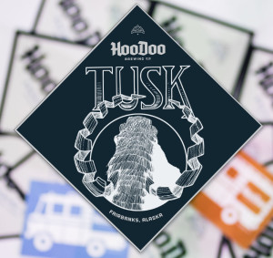 HooDoo Brewing Co. Fairbanks Alaska TUSK Barleywine Beer